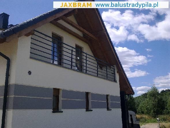 Unikalne Nowoczesne balustrady balkonowe w Chodzieży Pasujące Chodziez KS61